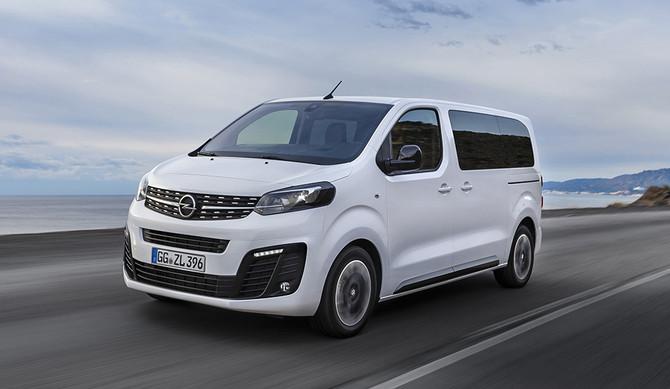 Os preços do Opel Zafira-e Life