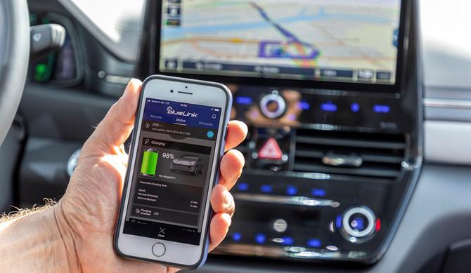 """Hyundai lança """"Bluelink Connected Car Services"""""""