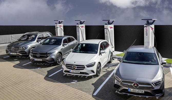 Mercedes-Benz triplica as vendas globais de elétricos e híbridos plug-in