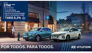 Campanha Hyundai: elétricos por apenas 275€/mês