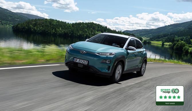 Green NCAP: pontuação máxima para o Hyundai Kauai Electric