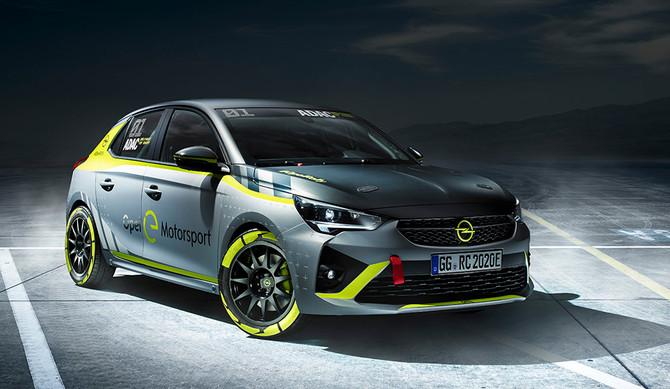 Opel desenvolve o primeiro carro elétrico de ralis