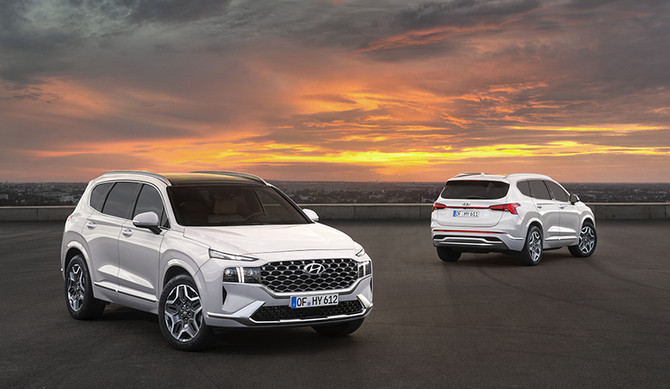 Novo Hyundai Santa Fe com versões HEV e PHEV