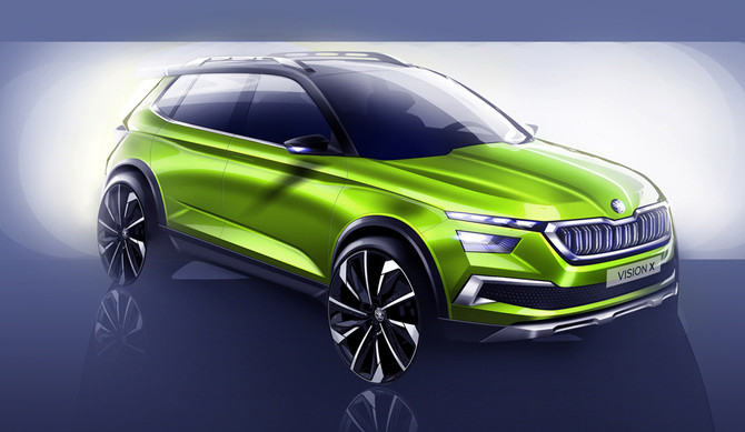Skoda Vision-X antecipa futuro SUV