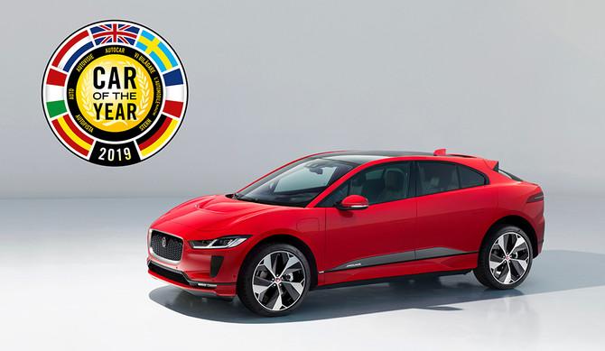 Jaguar I-PACE eleito 'carro do ano' na Europa