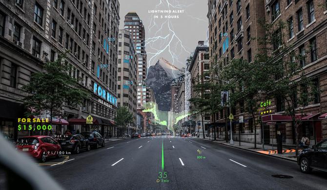 Hyundai investe na navegação holográfica de realidade aumentada
