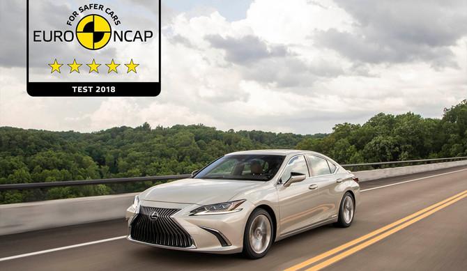 Novo Lexus ES: um dos automóveis mais seguros