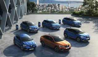 Renault: 3 novos híbridos E-TECH
