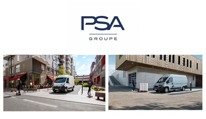 PSA anuncia ofensiva elétrica nos Veículos Comerciais Ligeiros