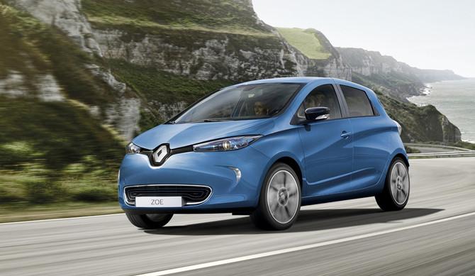 Vendas de carros elétricos em Portugal: Renault líder destacada em 2017
