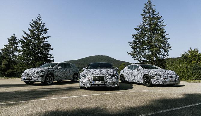 Mercedes-Benz: novos modelos EQ