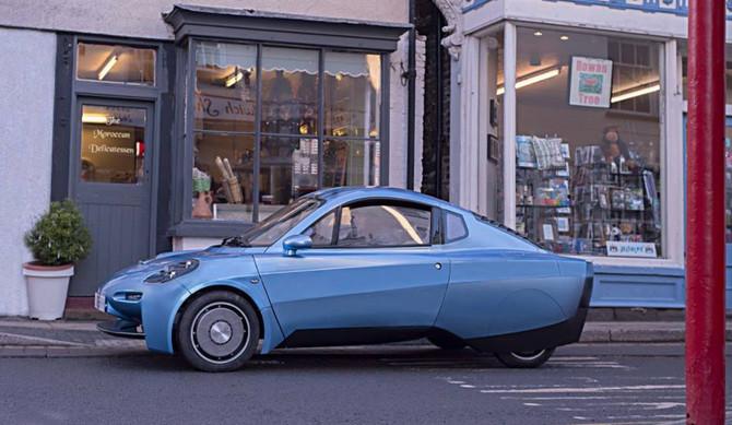 Novo carro a hidrogénio circula em Londres