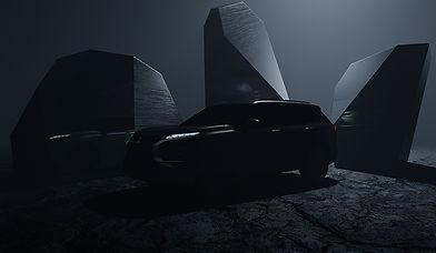 2022 Mitsubishi Outlander tease image-so
