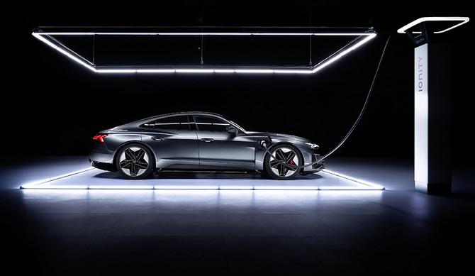 Lançamento do Audi e-tron GT