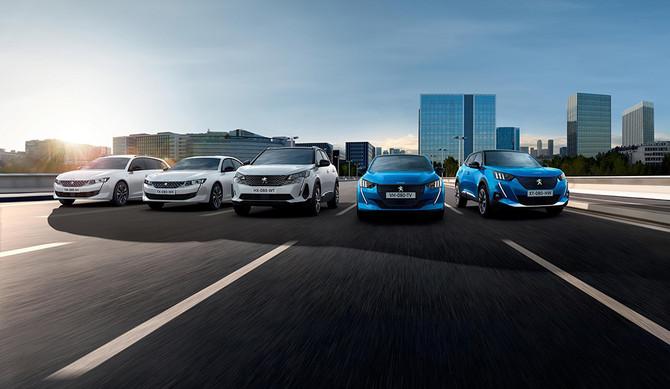 Peugeot, líder de vendas no primeiro trimestre