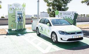 Mobilidade elétrica Lidl_Loja Lisboa Inf