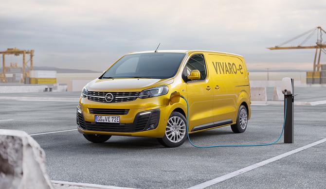 Vívaro-e: Opel anuncia preços do novo furgão elétrico