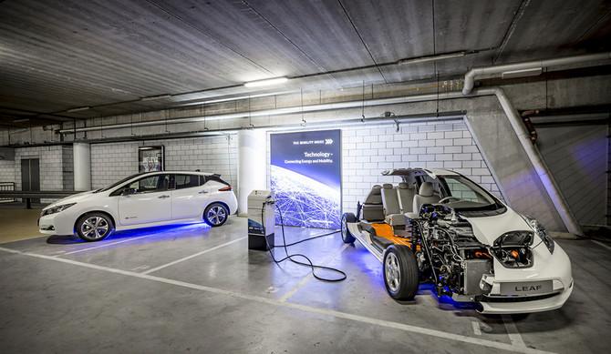 Nissan LEAF: maior sistema de armazenamento de energia da Europa recebe prémio