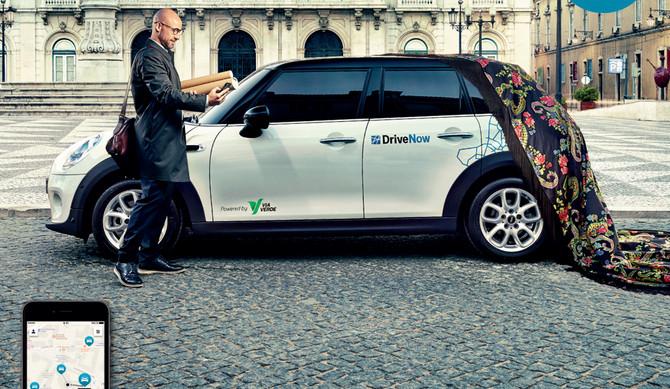 DriveNow chega às 150 mil viagens