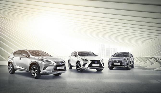 Reino Unido: Lexus NX vence prémio de melhor híbrido