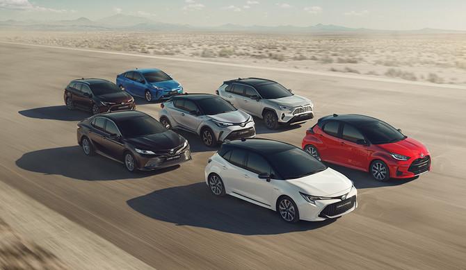 Toyota lidera venda de veículos eletrificados em Portugal