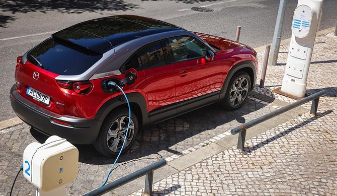 Mazda MX-30: campanha especial no ENVE 2021