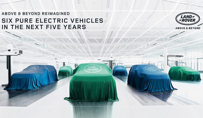 Jaguar Land Rover anuncia futuro elétrico