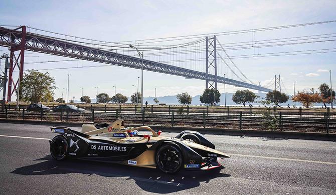 Fórmula E: DS Techeetah e António Félix da Costa celebram títulos em Lisboa