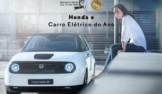 Honda e eleito Elétrico do Ano