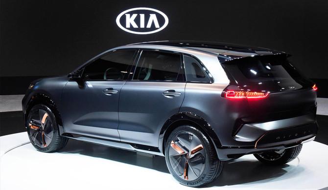 Kia revela protótipo Niro EV