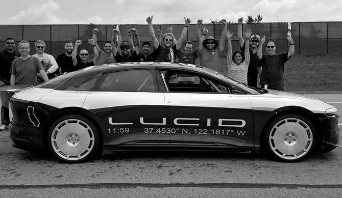 Lucid Motors tem carro elétrico mais rápido que os Tesla