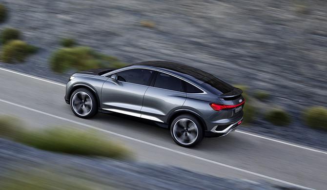 Audi confirma Q4 Sportback e-tron