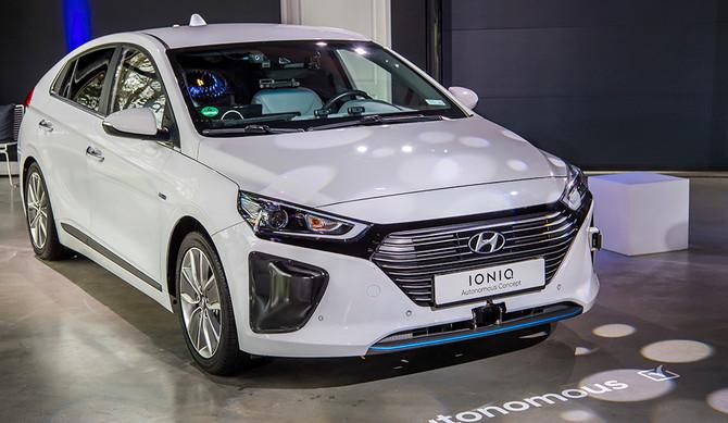 Hyundai IONIQ testa nível 4
