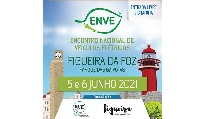 Encontro Nacional de Veículos Elétricos:ENVE 2021 é já este fim de semana!