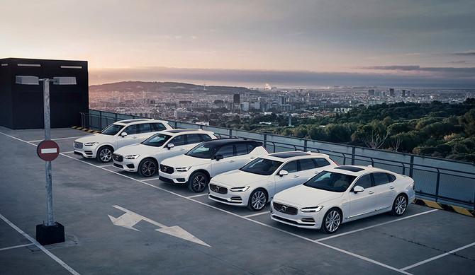 Híbridos Volvo oferecem um ano de eletricidade gratuita