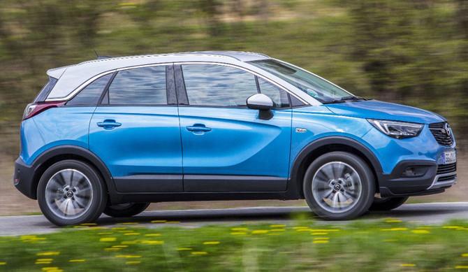 Opel Crossland X a GPL