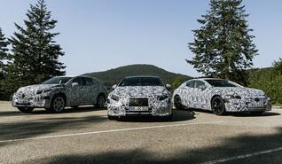 Mercedes-Benz anuncia novos veículos elétricos
