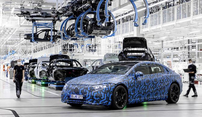 Mercedes-Benz: 6 novos modelos EQ até 2022