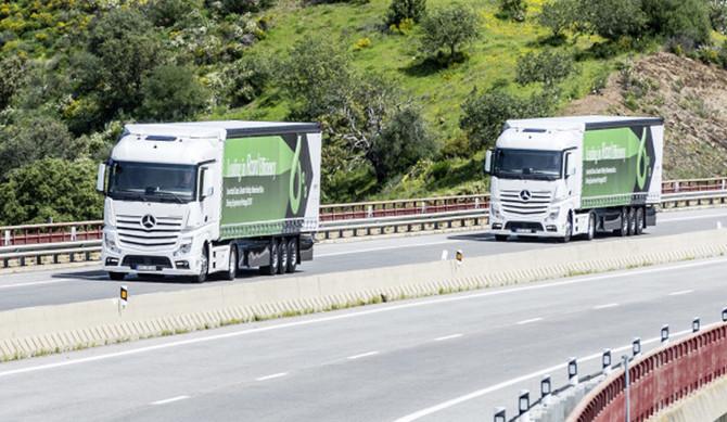 Mercedes comprovou eficiência de novos camiões em Portugal