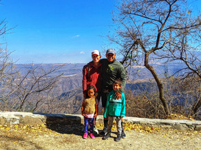 Hiking the Barranca