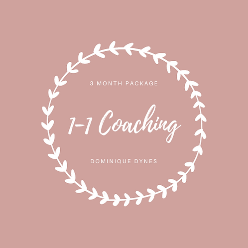 1-1 Coaching 3 Month Package