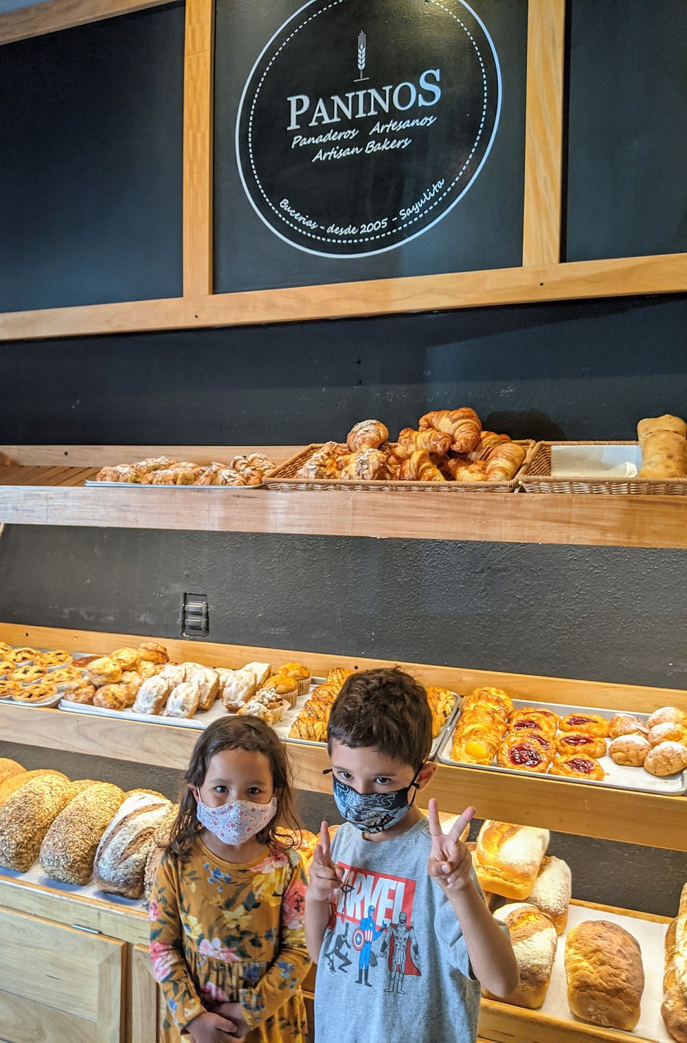 Paninos, Pastries, Bucerias Bakery