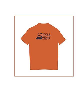 Sierra Swan Orange t-shirt