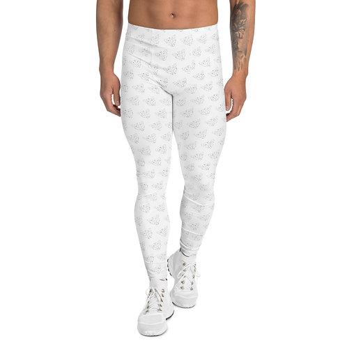 White Panther Leggings