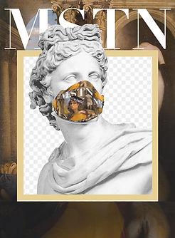 luxury brand Mastrioni designer face mask facemask british ancient rome greek roman