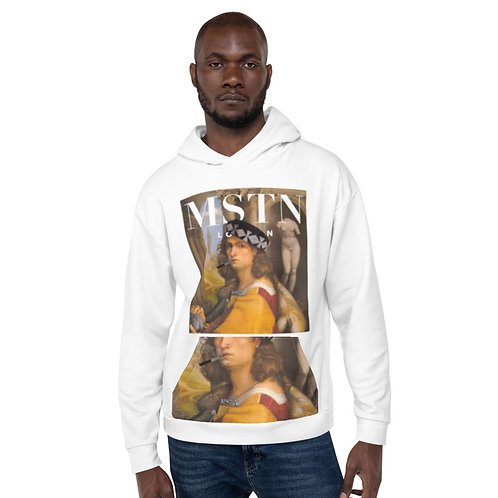Domenico - White Hoodie by MSTN London
