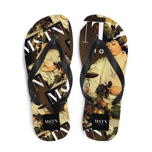 MSTN London Flip Flops - Caravaggio