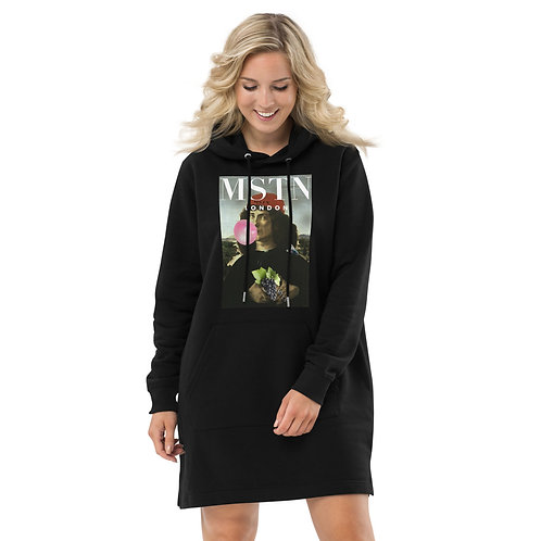 Renaissance Man Eco-Hoodie dress by MSTN London