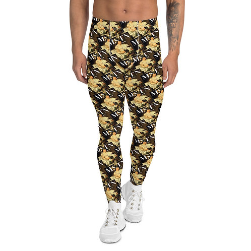MSTN London Men's Leggings - Caravaggio