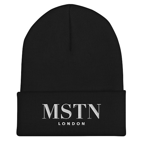 MSTN London Cuffed Beanie